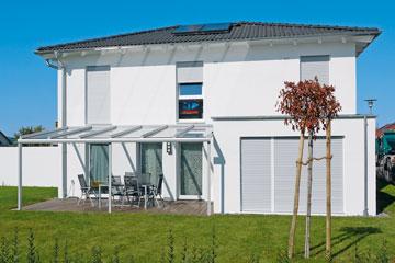 Klassische Terrassendächer (Brustor)