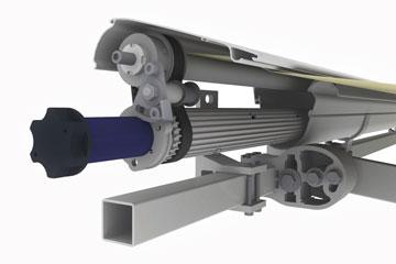 Markise Reflexa TwinTube – Stahl