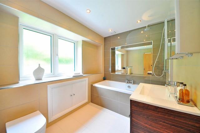 Badezimmerspiegel rechteckig, modern