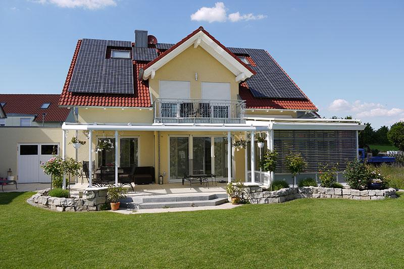 Terrassendach aus der Serie Cielo