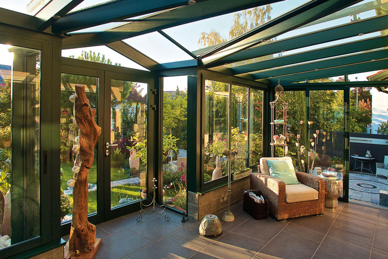Wintergarten aus der Serie Serra