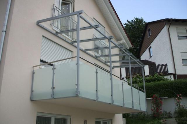 Glasgeländer Balkon