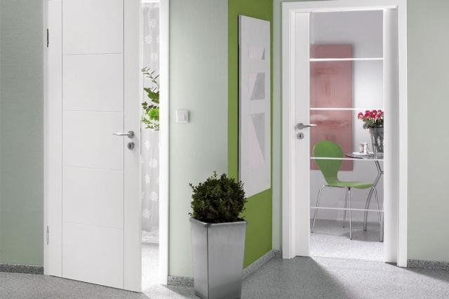 Innentüren weiß, modern