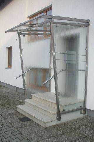 Vordach Stahl Bauelemente