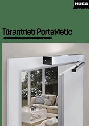 HUGA Türantrieb PortaMatic – für ein barrierfreies und komfortables Wohnen