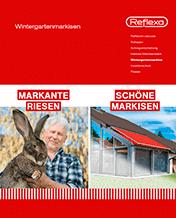 Reflexa – Wintergartenmarkisen